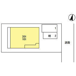 (仮)D‐room桜区南元宿2丁目 II[101号室]の外観