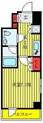 セジョリ板橋坂下 8階1Kの間取り