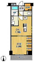 サカト3[3階]の間取り