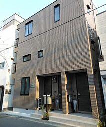東京都台東区橋場1丁目の賃貸アパートの外観