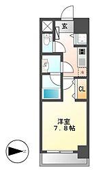 Confort新栄[5階]の間取り