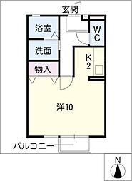 メゾン・ボナール[2階]の間取り