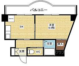 ローズコーポ新大阪7[2階]の間取り