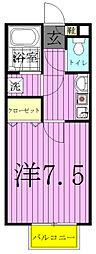 サンコート江戸川台[101号室]の間取り