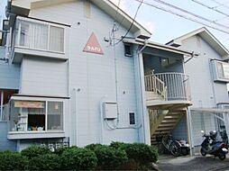 徳島県徳島市庄町5丁目の賃貸アパートの外観