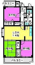 エスペランサ室見[2階]の間取り