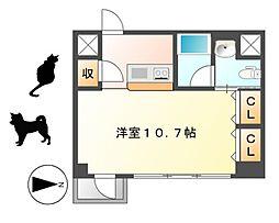 KDXレジデンス東桜I[2階]の間取り