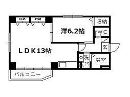 ソルトシティ浜松[505号室]の間取り