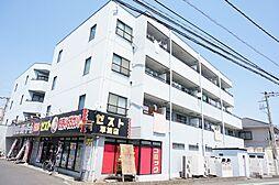 埼玉県草加市弁天5丁目の賃貸マンションの外観