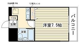 ベルトピア姫路I[202号室]の間取り