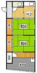 大塚山荘[1階]の間取り