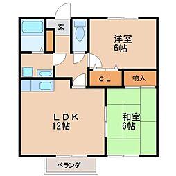 トロイメライI[2階]の間取り