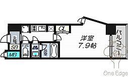 Mid Cout Umekita(ミッドコートウメキタ)[2階]の間取り