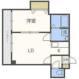 アヴァンティ65[2階]の間取り