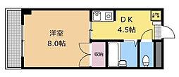 東京都町田市本町田の賃貸マンションの間取り