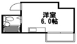 エレガンス姫島[402号室]の間取り