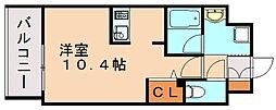 エンクレスト博多駅南シェア[4階]の間取り