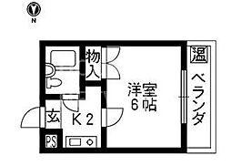 テラスICHI[107号室号室]の間取り