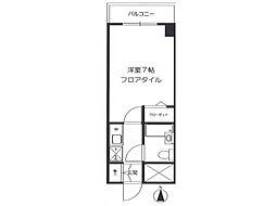 朝日八王子マンション[9階]の間取り