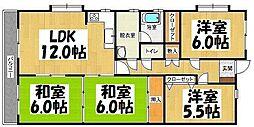 第3小石原ビル[2階]の間取り