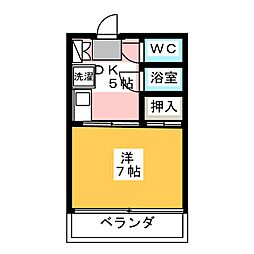 BELL HOUSE[2階]の間取り