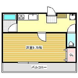 鈴木ビル[2階]の間取り