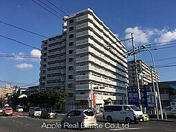 福岡県北九州市八幡西区熊西2の賃貸マンションの外観
