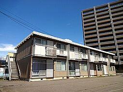長野県岡谷市本町3丁目の賃貸アパートの外観