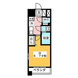 プライムアーバン鶴舞[2階]の間取り