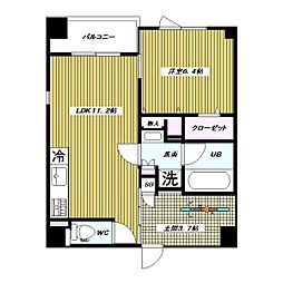仮 高島平1丁目 大和ハウス施工 新築賃貸マンション[2階]の間取り
