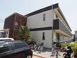 千葉県船橋市芝山1丁目の賃貸アパートの外観