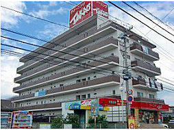 愛媛県松山市古川西1丁目の賃貸マンションの外観