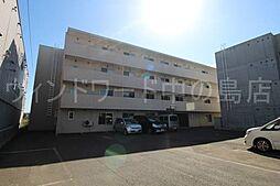 北海道札幌市豊平区平岸一条12丁目の賃貸マンションの外観