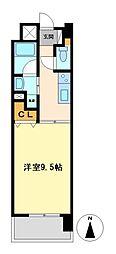 CASTELLO LUSSO[2階]の間取り