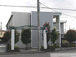 埼玉県草加市吉町4丁目の賃貸アパートの外観