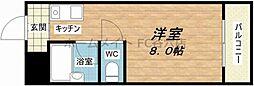シティアーク天王寺[4階]の間取り