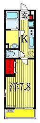 リブリ・リンドバーグ1号[2階]の間取り