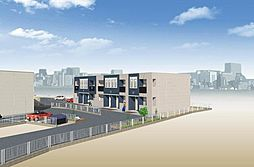 (仮)若松区東二島3丁目新築アパート[101号室]の外観