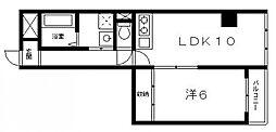 協和産業ビル[3階]の間取り