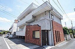 群馬県高崎市東町の賃貸アパートの外観