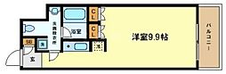 アーデンタワー南堀江[9階]の間取り