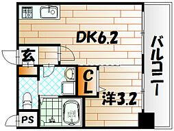 No.71 オリエントトラストタワー[20階]の間取り