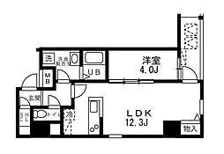 ALIKA向島(アリカ向島)[9階]の間取り