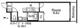 IF城北II[1階]の間取り