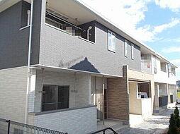 岡山県倉敷市真備町川辺の賃貸アパートの外観
