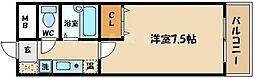 ビオス京橋[6階]の間取り