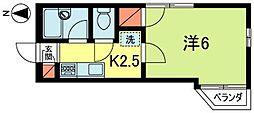 ATハウスII[2階]の間取り