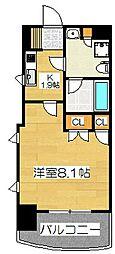 パークアクシス博多[4階]の間取り