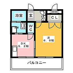 tico house[13階]の間取り
