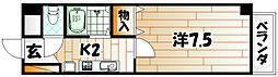 ソレーユ戸畑[4階]の間取り